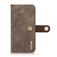 Case For Apple iPhone 8 iPhone 8 Plus iPhone 6 iPhone 7 Plus iPhone 7 Card Holder Wallet Full Body Cases Solid Color Hard Genuine Leather