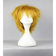 お買い得  -人工毛ウィッグ / コスチュームウィッグ カール ブロンド 合成 ブロンド かつら 女性用 キャップレス ゴールデンブロンド hairjoy