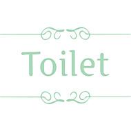 お買い得  -飾りウォールステッカー - プレーン・ウォールステッカー キラキラ・ウォールステッカー ファッション 文字 カジュアル リビングルーム ベッドルーム 浴室 キッチン ダイニングルーム 研究室 / オフィス ボーイズルーム ガールズルーム ショップ / カフェ