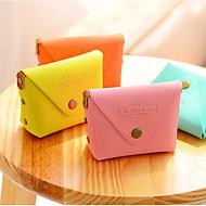 preiswerte Schreibwaren-Macarons Farbe PU-Leder Portemonnaie