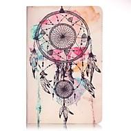 """Для Кошелек / Бумажник для карт Кейс для Чехол Кейс для Рисунок """"Ловец снов"""" Твердый Искусственная кожа Samsung Tab A 7.0"""