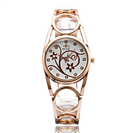 cheap Fashion Watches-Women's Wrist watch Fashion Watch Casual Watch Quartz / Casual Watch Alloy Band Casual Elegant Cool Silver Gold Rose Gold