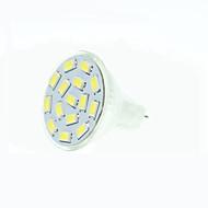 tanie Żarówki LED bi-pin-5W GU4(MR11) Żarówki punktowe LED MR11 15 Diody lED SMD 5630 Przysłonięcia Ciepła biel Naturalna biel Czerwony Niebieski Zielony