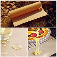 olcso -BBQ grill szőnyeg sütőben sütés nonstick hőálló kendő lap linóleum újrafelhasználása olaj papír (véletlenszerű szín)