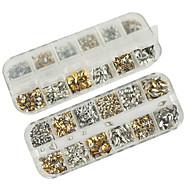 1200pcs mixs model klinknagel nail art decoraties