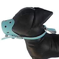 Cachorro Focinheiras Macio Corrida Sólido Tecido Marron Vermelho Azul