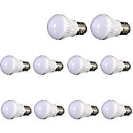 halpa LED-pallolamput-5W 400 lm E26/E27 LED-pallolamput ledit SMD 2835 Koristeltu Lämmin valkoinen AC110 AC 220-240V