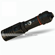 U'King ZQ-WXK9 Diving Flashlights/Torch LED 1200LM lm 1 Mode Cree XM-L2 Mini Adjustable Focus Waterproof Compact Size Easy Carrying