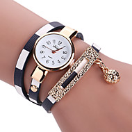 Dames Kinderen Modieus horloge Polshorloge Armbandhorloge Kwarts Kleurrijk PU BandVintage Bohémien Bedeltjes Bangle armband