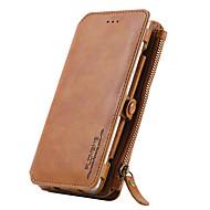 Для huawei p9 card holder кошелек с футляром для футляра корпус для тела сплошной цвет твердая натуральная кожа