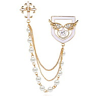 billige -Dame Brocher Mode Broche Smykker Gylden Til Daglig Afslappet