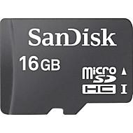 abordables Tarjetas de Memoria-SanDisk 16GB Tarjeta SD tarjeta de memoria class4