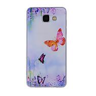 Для samsung galaxy a8 (2016) a8 корпус крышка бабочка окрашенный узор tpu материал телефон чехол для a7 a5 a3 a510 a310