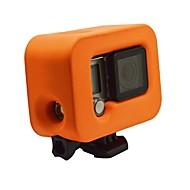 お買い得  スポーツカメラ & GoPro 用アクセサリー-防水ハウジング ケース 防水 / 防塵 ために アクションカメラ Gopro 4 Session / Gopro 4 Silver / Gopro 3 ユニバーサル EVA