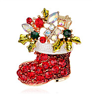 cheap Christmas Jewelry-Women's Cross Brooches - Fashion / Christmas Rainbow Brooch For Party / Special Occasion / Birthday