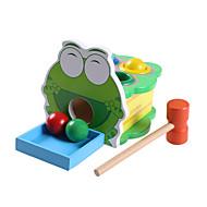 공 교육용 장난감 장난감 노블티 개구리 나무 카툰 조각 남아 여아 크리스마스 생일 어린이날 선물