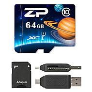ZP 64GB MicroSD Class 10 80 Other Višestruki u jednom čitač kartica čitač Micro SD kartice SD čitač kartica ZP-1 USB 2.0