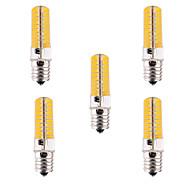 お買い得  LED コーン型電球-YWXLIGHT® 5個 500-700lm E17 LEDコーン型電球 T 80 LEDビーズ SMD 5730 調光可能 装飾用 温白色 クールホワイト 110-220V