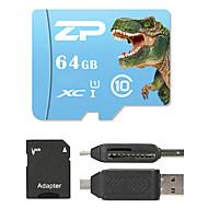 ZP 64 Гб MicroSD Класс 10 80 Other Множественный в одном кард-ридер Считыватель Micro SD карты устройства для чтения карт памяти SD ZP-1