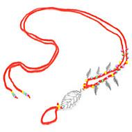 billige -Dame Ankel / Armbånd Legering Håndlavet Mode minimalistisk stil Europæisk Med perler Ankel Bladformet Smykker Til Strand