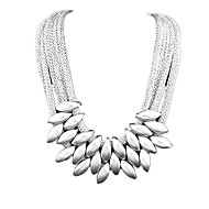 cheap Jewelry & Watches-Women's Jewelry Set Pendant Necklace Statement Necklace - Festival / Holiday Multi Layer Fashion Jewelry Necklace For Party Special