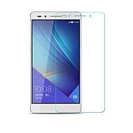 beittal® 0.26mm afrundet kant gennemsigtig 9h hærdet glas membran skærmbeskytter til Huawei Huawei ære 7