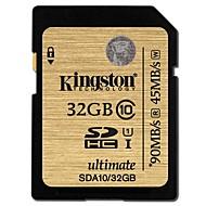 저렴한 -Kingston 33GB SD 카드 메모리 카드 UHS-I U1 CLASS10