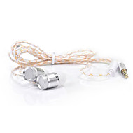 JKR JKR-301 Zvučnici za u uho (u ušni kanal)ForMedia Player / Tablet / mobitel / RačunaloWithS mikrofonom / DJ / Kontrola glasnoće / FM