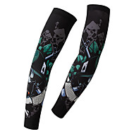 cheap -XINTOWN Sleeves Black Winter Breathable Quick Dry Ultraviolet Resistant Fishing Cycling / Bike Motobike / Motorcycle Men's Women's Unisex Elastane Terylene / Stretchy / Sweat-wicking