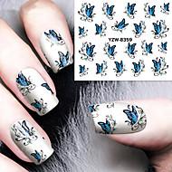 1 Nail Art matrica Víz Transfer Matricák smink Kozmetika Nail Art Design