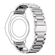 αντικατάσταση μετάλλων από ανοξείδωτο χάλυβα έξυπνο ρολόι βραχιόλι λουράκι για βότσαλο φορά / βότσαλο χρόνο χάλυβα / χαλίκι χρόνο 2