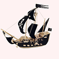 cheap Toys & Hobbies-Wooden Puzzles Ship Professional Level Wood Christmas Carnival Birthday Pirates Pirate