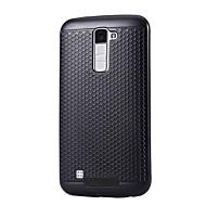 お買い得  携帯電話ケース-ケース 用途 LG K8 LG LG K5 LG K10 LG G5 耐埃 バックカバー 純色 ハード PC のために LG X Power LG V20