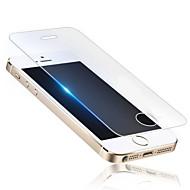 Недорогие Защитные пленки для iPhone-HD отпечатков пальцев доказательство прозрачный царапинам стекло пленка для iPhone 5 / 5s