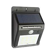 12 açık güneş enerjili kablosuz su geçirmez güvenlik hareket sensörü ışık gece ışıkları açtı