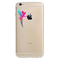 Недорогие Кейсы для iPhone 8 Plus-Кейс для Назначение Apple iPhone 8 iPhone 8 Plus iPhone 6 iPhone 7 Plus iPhone 7 Ультратонкий С узором Кейс на заднюю панель