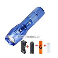 お買い得  -2000 lm lm LED懐中電灯 LED 5 モード - U'King ズーム可能 / 焦点調整可 / 調光可能