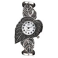 ASJ Dame Moteklokke Armbåndsur Unike kreative Watch Japansk Quartz Japansk Quartz Vannavvisende Støtsikker Legering BandVintage Blader