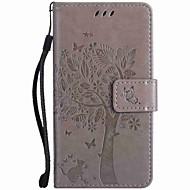 Για Πορτοφόλι Θήκη καρτών με βάση στήριξης Ανάγλυφη tok Πλήρης κάλυψη tok Δέντρο Σκληρή Συνθετικό δέρμα για NokiaNokia Lumia 950 Nokia
