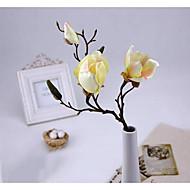 abordables Flores Artificiales-Flores Artificiales 1 Rama Estilo Simple Orquídea Flor de Mesa