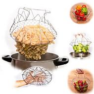 1개 감자 미트볼조리기구에 대한 스테인레스 스틸 고품질 멀티기능 비 스틱 크리 에이 티브 주방 가젯 열 절연 노블티