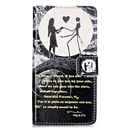 Недорогие Чехлы и кейсы для Huawei Honor-Для Бумажник для карт Кошелек со стендом Флип С узором Магнитный Кейс для Чехол Кейс для Череп Твердый Искусственная кожа для Huawei