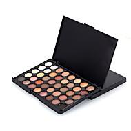40 Eyeshadow Palette Dry Eyeshadow palette Pressed powder Daily Makeup
