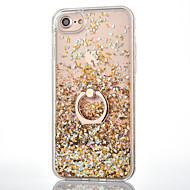 Недорогие Кейсы для iPhone 8 Plus-Кейс для Назначение iPhone 7 Plus IPhone 7 Apple iPhone 8 iPhone 8 Plus iPhone 6 iPhone 7 Plus iPhone 7 Движущаяся жидкость