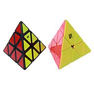 루빅스 큐브 YongJun 부드러운 속도 큐브 피라 밍크 스 매직 큐브 새해 크리스마스 어린이날 선물