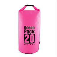丰途 20 L 防水ドライバッグ 圧縮パック 防水バッグ 防水 速乾性 防雨 防湿 フローティング コンパクト 多機能の ヘッドセット のために 水泳 ビーチ キャンピング&ハイキング 屋外