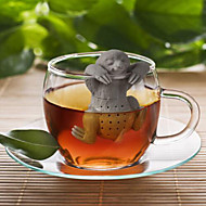 cheap Kitchen & Dining-Slow BrewTea Infuser - Cute Sloth Hanging Loose Leaf Silicone Mug Cup Straineg