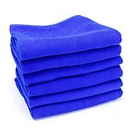 economico Prodotti per la pulizia e il lavaggio-ziqiao 6pcs / lotto strumenti di pulizia auto in microfibra lavaggio panno asciugamano prodotti di polvere (30 * 30cm)
