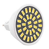 ywxlight® gu5.3 (mr16) led spot mr16 32 smd 5733 500-700 lm warm wit koud wit decoratief ac 220-240 ac 110-130 v