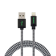 MFI 2M(6ft) Braided Lightning Cable USB Sync and Charge for Apple iPhone X 8 8 Plus 7 6s Plus SE 5s iPad Air iPad Mini